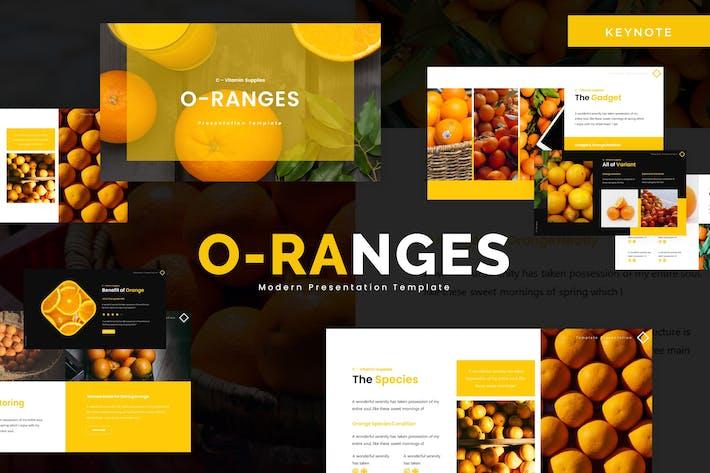 Thumbnail for O-Ranges - Keynote Template