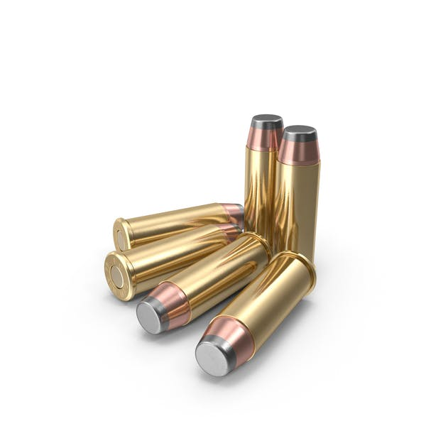 Cartuchos Magnum de 0,44.