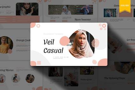 Veil Casual | Google Slides Template