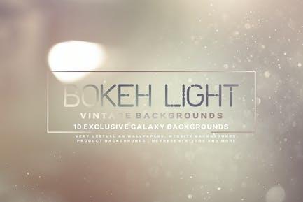 Bokeh Light Vintage Backgrounds