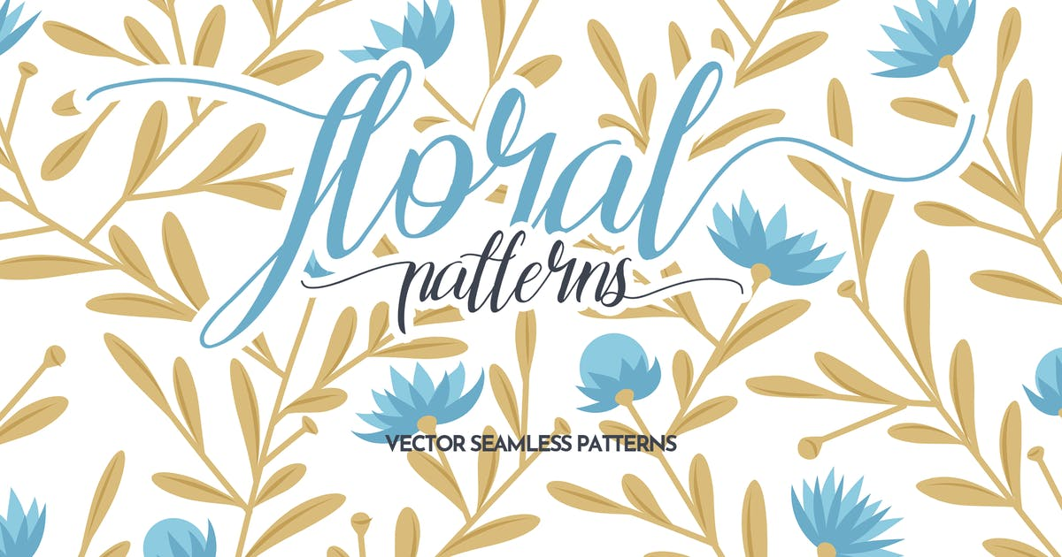 Download Floral Seamless Patterns by themefire