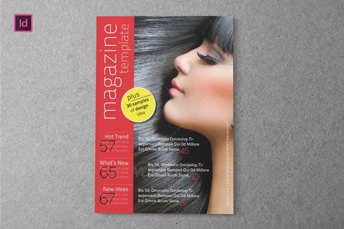 Thumbnail for PROFESIONAL - Indesign Magazine Template