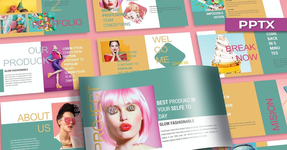 Download KEUMALA _ Pastel Powerpoint Template by joelmaker
