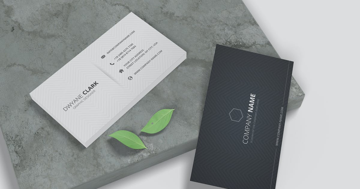 Download Minimalist Business Card Mockup Vol. 3.1 by indotitas