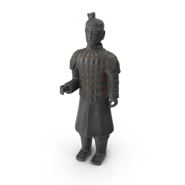 Ancient Warrior Statue