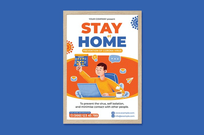 Thumbnail for Stay at Home Poster