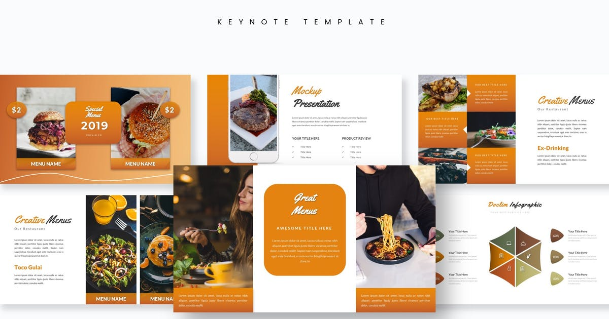 Download Doclim - Keynote Template by aqrstudio
