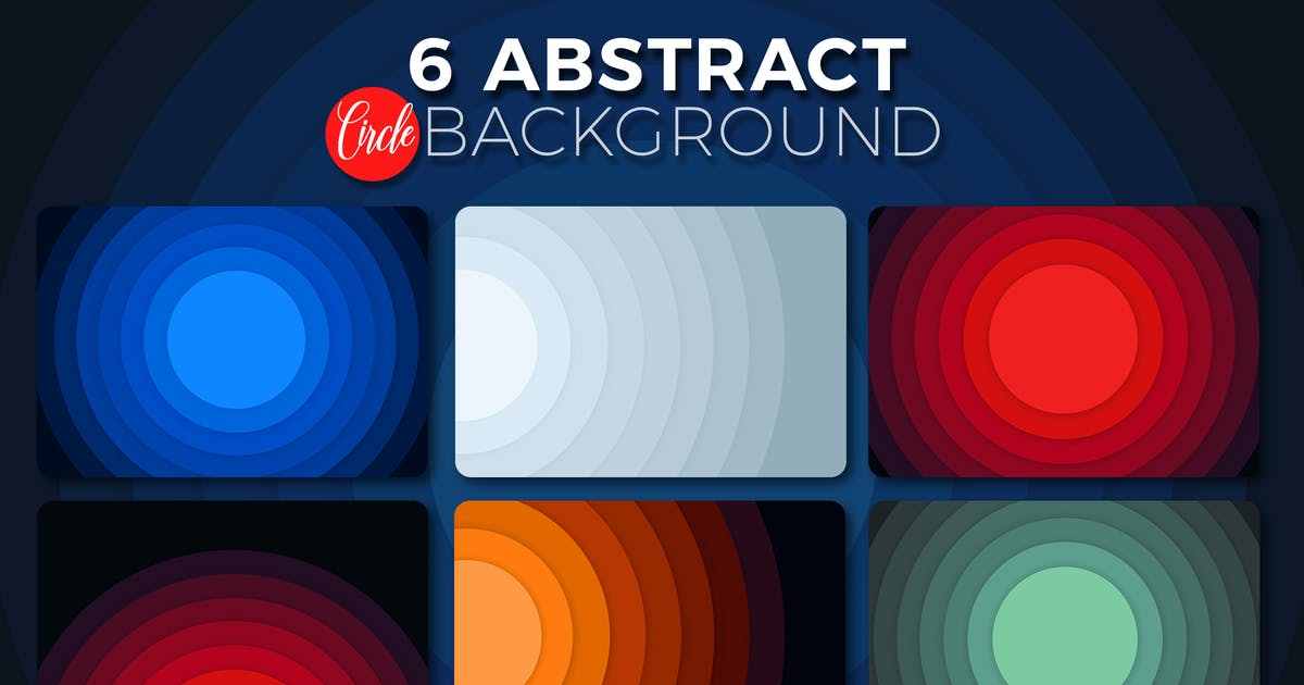 Download Abstract Circle Backgrounds by StrokeVorkz