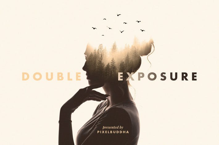 Thumbnail for Double Exposure Photoshop Effect