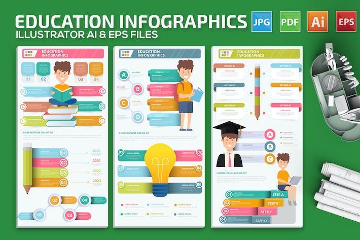 Thumbnail for Infografiken für Bildung