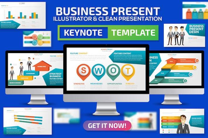 Шаблон представления Keynote докладов для деловых кругов