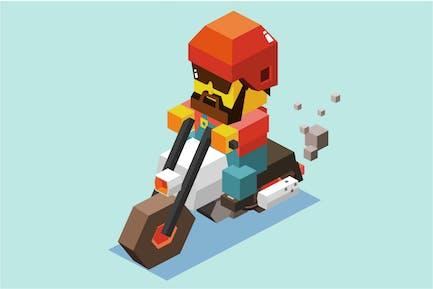 Motorradfahren sicher