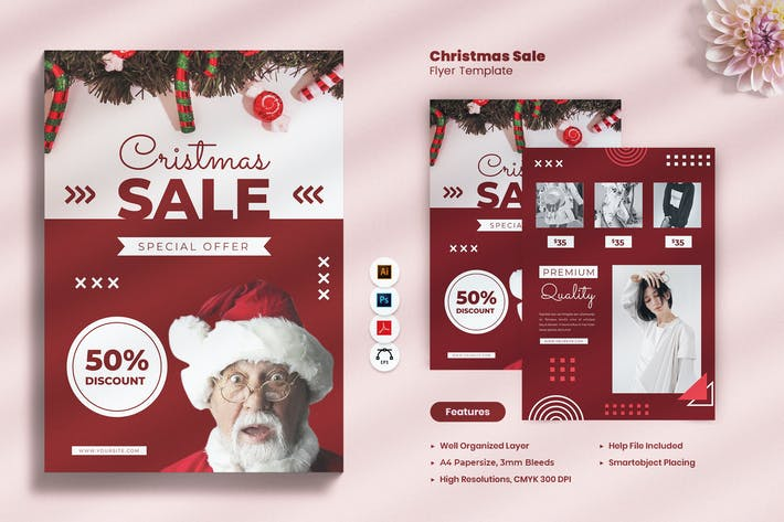 Christmas Big Sale Flyer