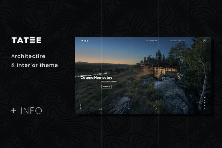 Thumbnail for Tatee - Architecture PSD Modèle