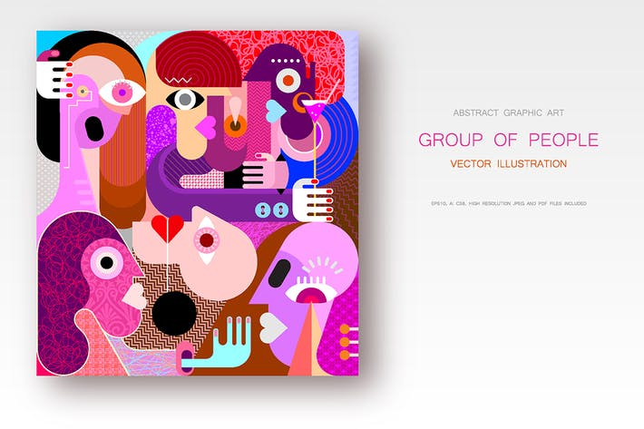 Thumbnail for Group of People vector illustration