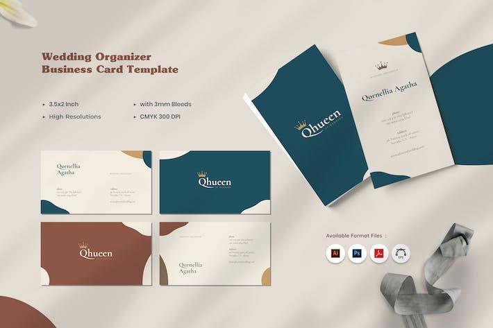 Thumbnail for Wedding Organizer Business Card