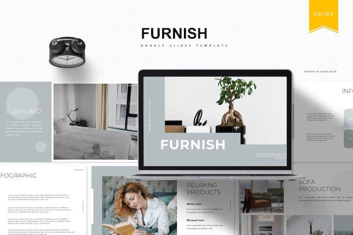 Thumbnail for Furnish | Google Slides Template