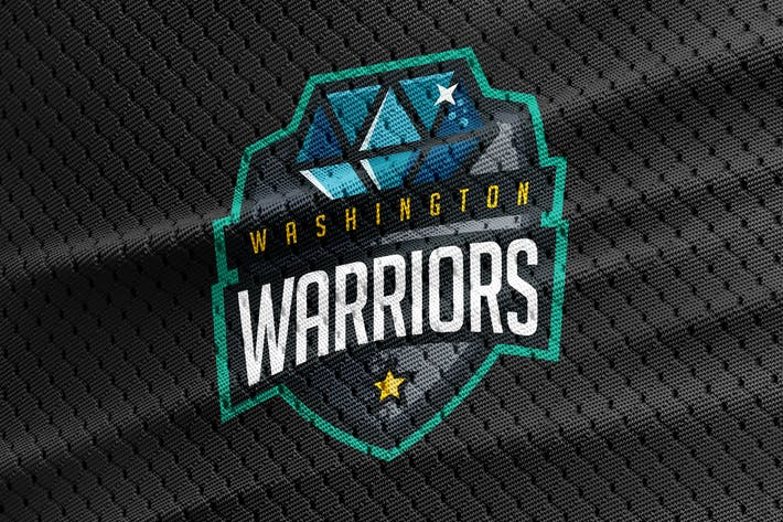 Thumbnail for Warriors - Diamond Team Logo Template
