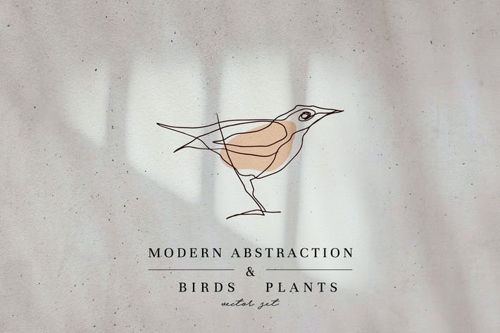 Thumbnail for Modern Abstraction Birds & Plants