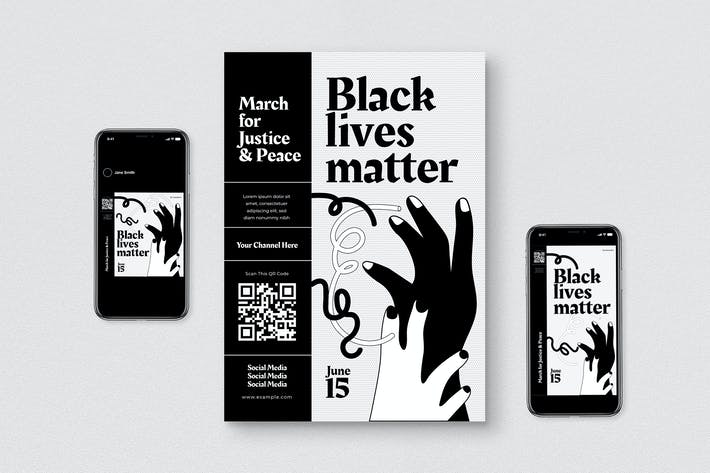 Black Live Matter Flyer Pack