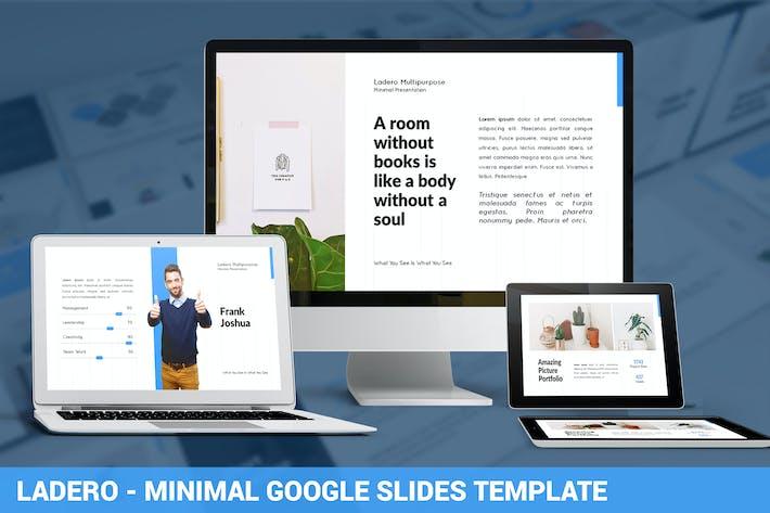 Thumbnail for Ladero - Minimal Google Slides Template