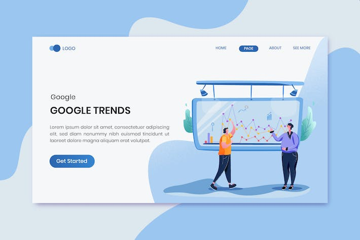 Thumbnail for Google Trends Marketing Landing Page