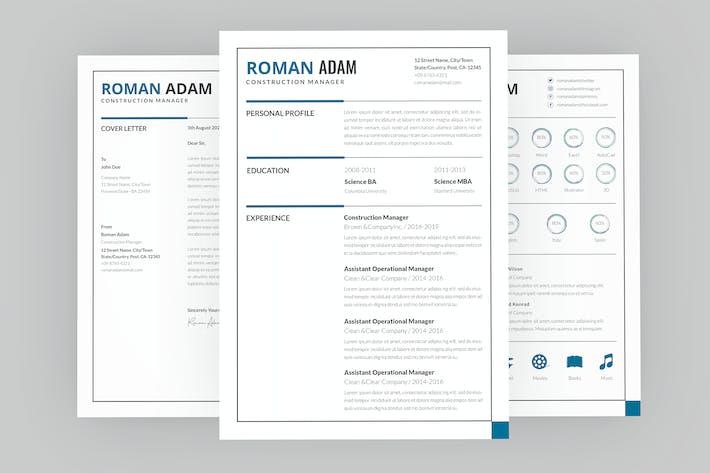 Roman Manager Resume Designer