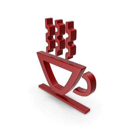 Hot Cup Symbol Red