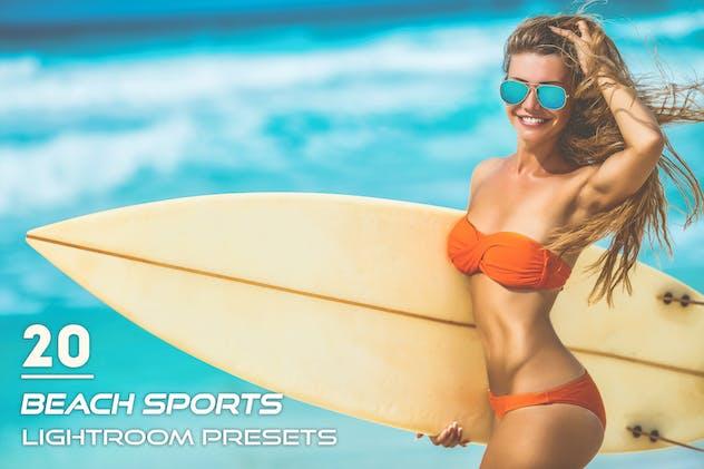 20 Beach Sports Lightroom Presets