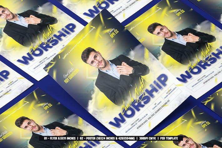 Thumbnail for Church Flyer & Poster