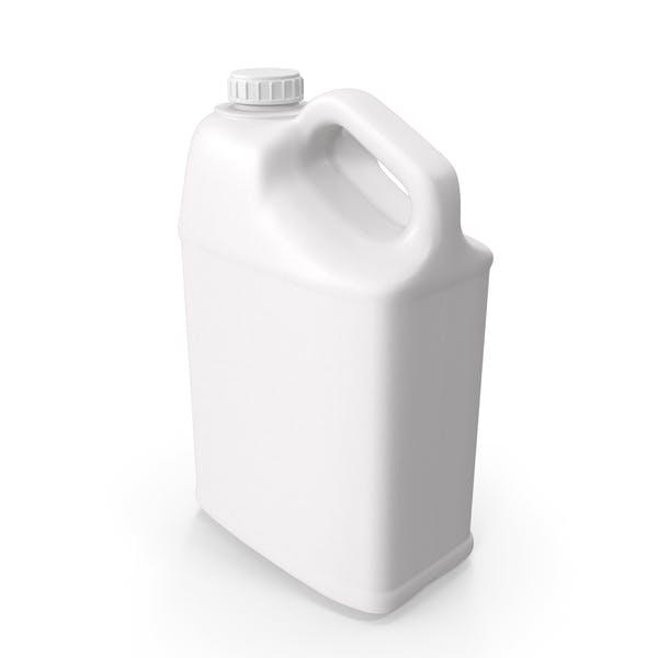 Пластиковая бутылка 25 галлонов с ребристой пластиковой крышкой