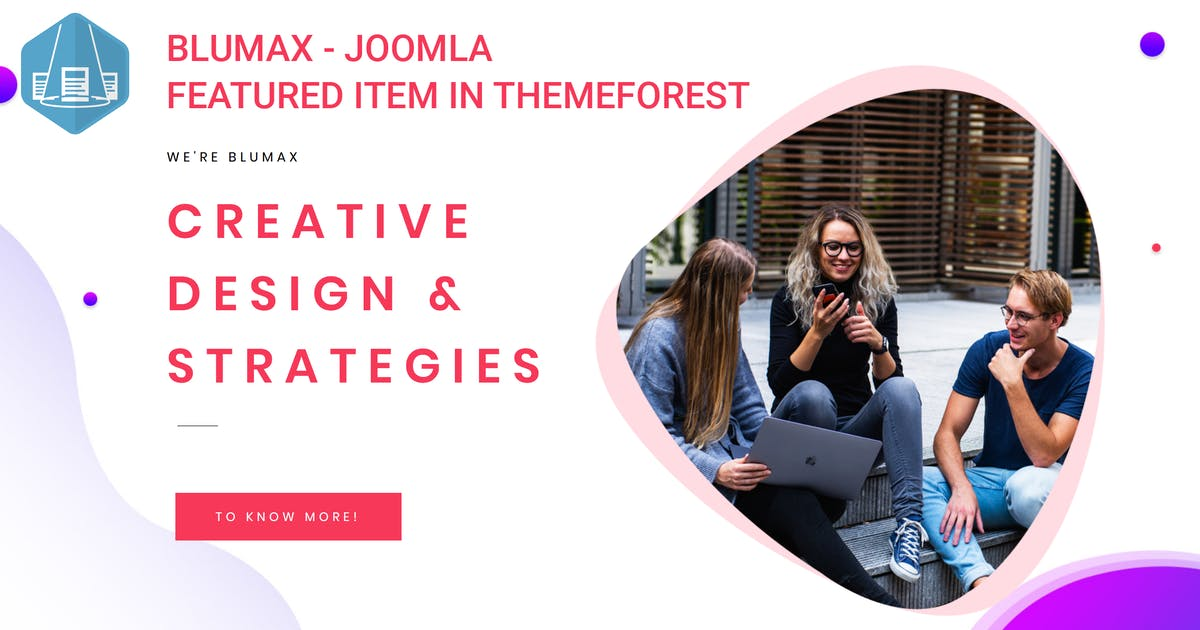 Download Blumax - Multipurpose Joomla Website Template by codelayers