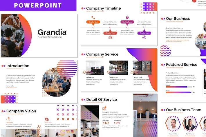 Thumbnail for Grandia - Business Powerpoint-Vorlage