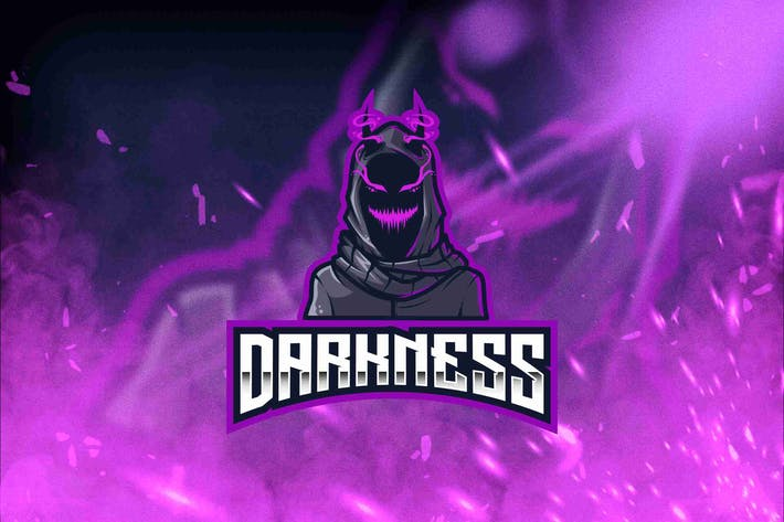 Thumbnail for Darkness Esport Logo Template