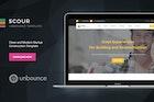 Scour - Construction Unbounce Landing Page
