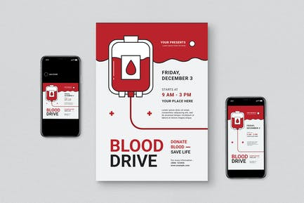Blood Donor Flyer Pack