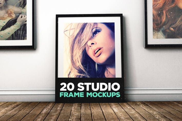 Thumbnail for 20 Studio Frame Mockups