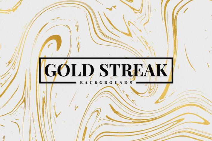 Thumbnail for Arrière-plans Gold Streak