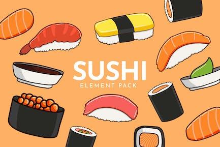 Sushi Set - Vector