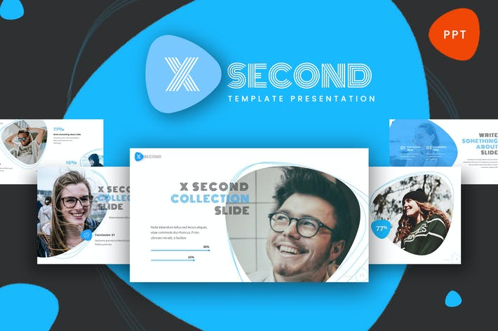 Thumbnail for X Second - Modern Powerpoint Template