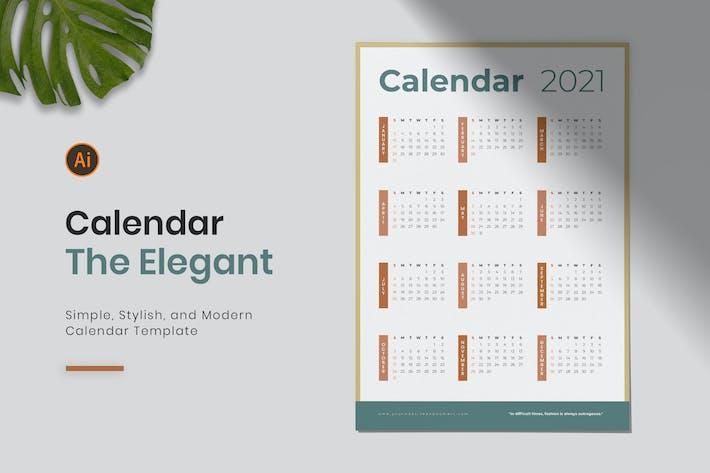 Eleganter Kalender