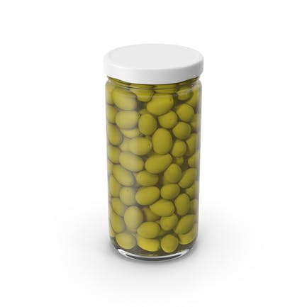 Oliven Jar Weiß