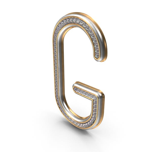 Diamantes Bling Letra G