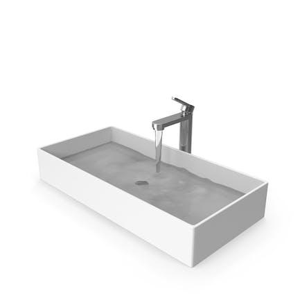 Lavabo de baño Moderno