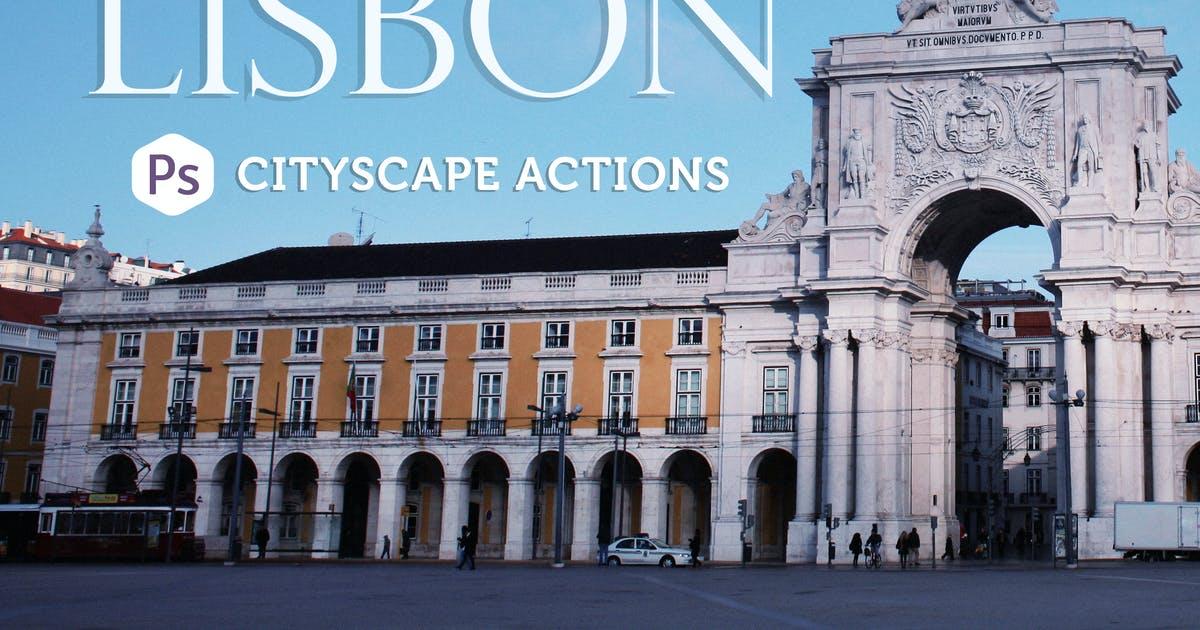 Lisbon Cityscape Actions by Presetrain
