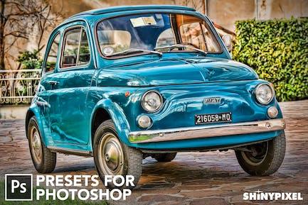 HDR Studio Vol. 1 - 20 Photoshop Presets