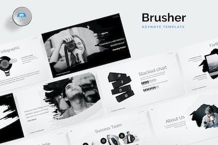 Шаблон ключевых пометок Brusher