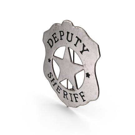 Western Deputy Sheriff Badge