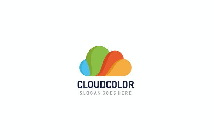 Thumbnail for Colorful Cloud Logo