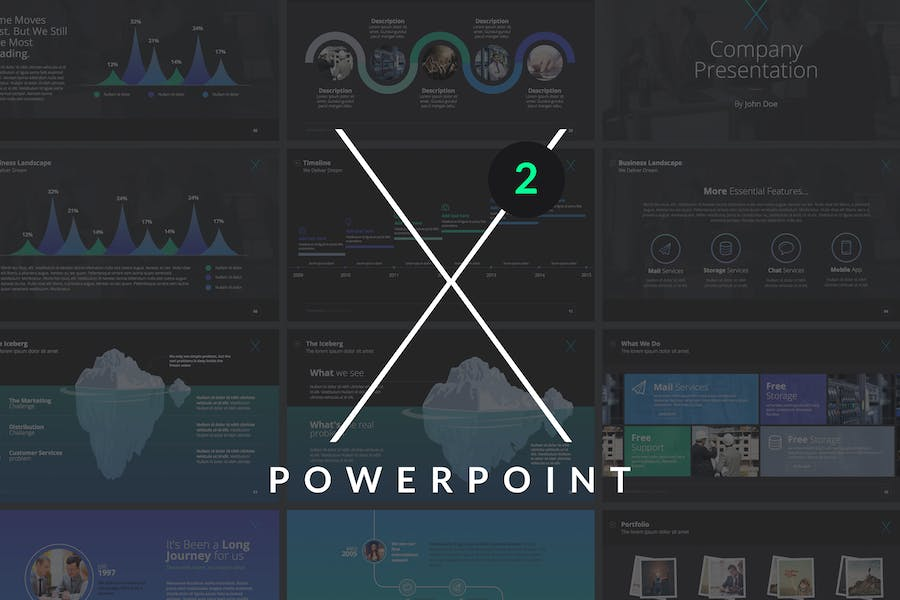 X Note (VOL.02) - Powerpoint Template